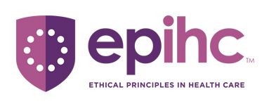 Logo depicting Ethical Principals in Health Care EPIHC