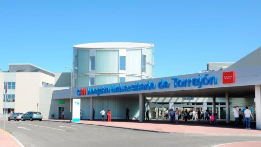 Torrejon Hospital in Madrid, Spain