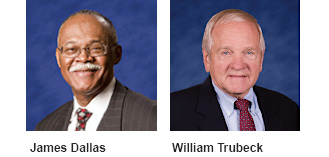 James Dallas and William Trubeck headshots