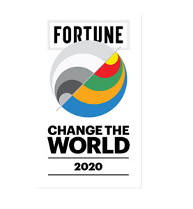 Fortune 2020 Change the World logo