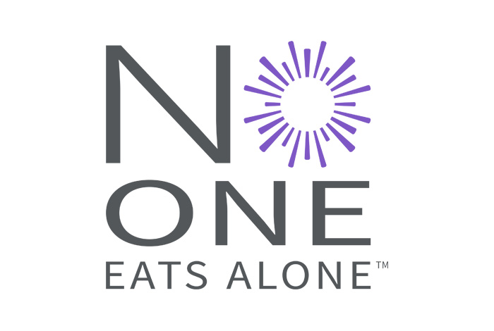 No One Eats Alone Day Logo