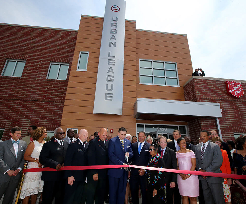 National Urban League Ribbon Cutting
