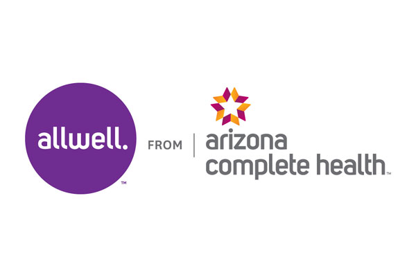 Logo of Allwell from Arizona Complete Health a healthcare program of Centene Corporation