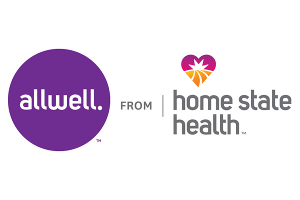 allwell and home state health logo