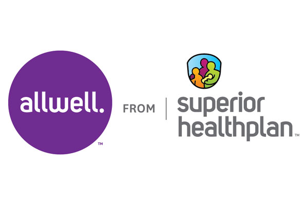 allwell and superior healthplan logos