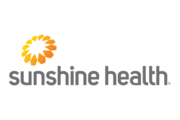 Logo of Sunshine Health a healthcare program of Centene Corporation