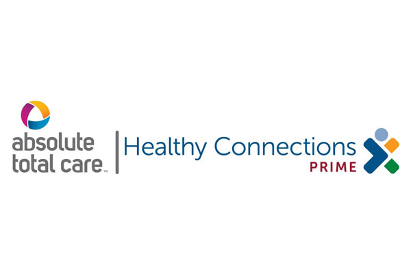 Logo for Absolute Total Care Healthy Connections Prime, a healthcare program of Centene Corporation