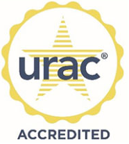 URAC Health Call Center Accredited Seal