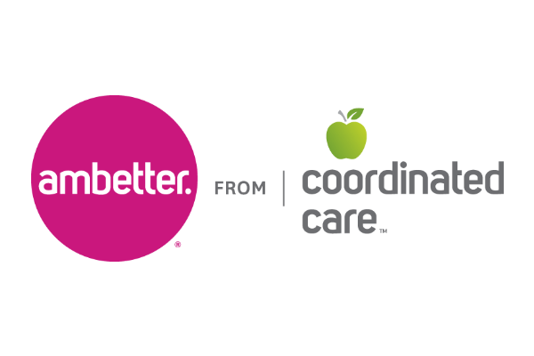 Logo for Coordinated Care, a healthcare service of Centene Corporation