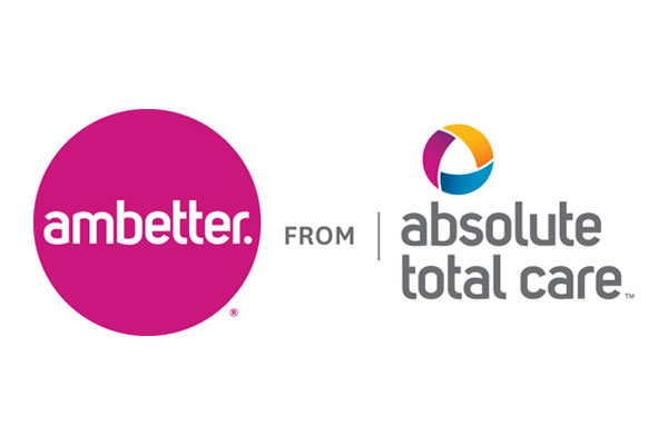 Logo for Ambetter from Absolute Total Care, a healthcare program of Centene Corporation