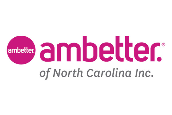 Logo of Ambetter of North Carolina, a healthcare program of Centene Corporation