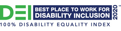 Disability Equality Index recognition banner