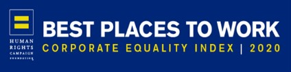 Human Rights Campaign Best Places to Work 2019 logo