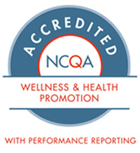 NCQA Accredited - Wellness and Health Promotion with Performance Reporting seal