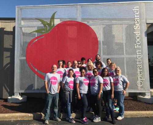 Centene Employees Volunteer at Operation Food Search